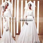Wholesale 2011 custom spring wedding dresses,  designer spring handmade wedding dresses 90020 from china suppliers