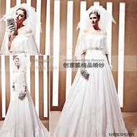 Wholesale 2011 custom spring wedding dresses,  designer spring handmade wedding dresses 90020 from china suppliers