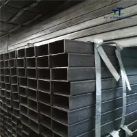 Wholesale Threaded Cut Thin Wall Rectangular Tubing , Rolled Hollow Section Plain End from china suppliers