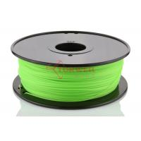 Wholesale Green 3D Printer Makerbot Filament 1.75mm 3mm ABS For 3D Printing , 1kg / Spool from china suppliers