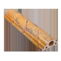 Wholesale Eexterior door yellow Artificial Marble Skirting Line emperador from china suppliers