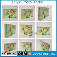 Wholesale Acrylic Block, Plexiglass Plaque, Perspex Sign paperweight from china suppliers