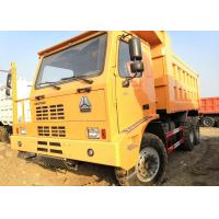 Wholesale 371HP Off Highway Truck , Yellow Color Heavy Duty Tipper Trucks 70 Tons Load from china suppliers