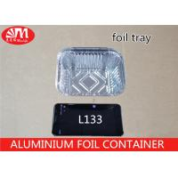 Wholesale Recyclable Aluminium Food Packaging Containers L133 14cm X 12cm X 5cm Size from china suppliers