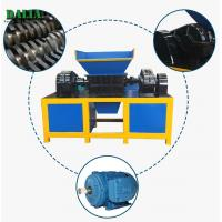 Wholesale Single Shaft PP PE PVC Industrial Plastic Shredder 100 - 2000kg/h For Pipes / Film from china suppliers