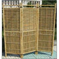 how to build a bamboo screen fence