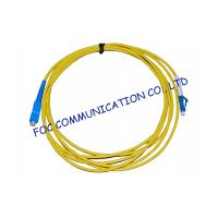 Wholesale Simplex Singlemode Fiber Optic Cable Patch Cord For FTTH Systems, Low Insertion Loss from china suppliers
