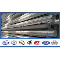 Wholesale Outdoor Electrical Power Pole , Transmission Steel Utility Power Poles from china suppliers