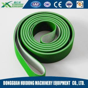 Wholesale Green Rubber Conveyor Belt PVC Pattern Conveyor Belt Ribbed Custom Design from china suppliers