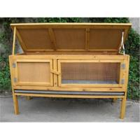 Rabbit hutch rabbit house rabbit cages small animal houses for Cheap c c cages