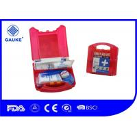 Wholesale Waterproof Red OSHA ANSI First Aid Kit For Commercial Kitchens OEM Avaliable from china suppliers