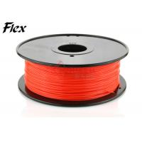Wholesale Ultimaker Red flexible filament in Plastic Rods , NINJA Flex filament from china suppliers