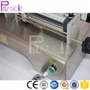 Wholesale 0.6mpa Single Head Pneumatic Paste Liquid Filling Machine from china suppliers