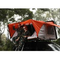 China 280G Polyester Cotton Canvas Car Roof Pop Up Tent , Light Auto Roof Top Tent on sale