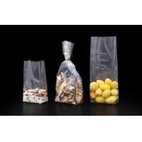 40 Micron Stand Up  OPPSide Gusset  Block Bottom Bags for Chocolate / Candy / Dried Fruit