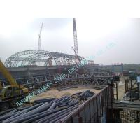Customized Prefabricated Pipe Metal Truss Buildings Grandstands And Sports