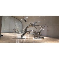 Wholesale Exhibition mirror polish stainless steel sculptures ,metal art steel statue,Stainless steel sculpture supplier from china suppliers