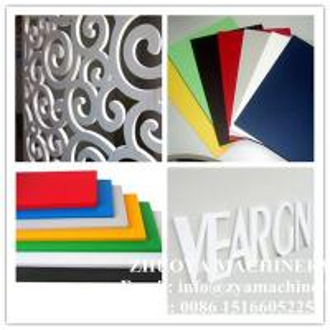 SGS Certified PVC Foamed Sheet Machine for Advertisement