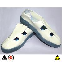 Wholesale ESD Butterfly Face PVC Conductive Shoes for Cleanroom Safety Use & Personnel Antistatic Protection from china suppliers