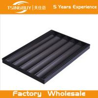 Wholesale Factory high quality bread baking aluminum sheet-non stick baking tray-non-stick french baguettes baking tray from china suppliers