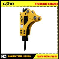 Wholesale hydraulic soosan rock breaker hammer made in China soosan sb40 hydraulic breaker manufacturer road breaker from china suppliers