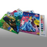 Wholesale Cartoons Painting Softcover custom coloring book printing Service from china suppliers