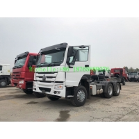 Wholesale ZZ4257S3241W 400L HW19710 6x4 Tractor Head Truck from china suppliers