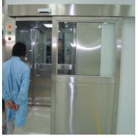 ISO 7 Energy Efficient Stainless Steel Air Shower Room With Automatic Slid Door
