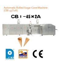 China High Production Ice Cream Cone Rolling Machine 6800L x 2400W x 1800H mm on sale
