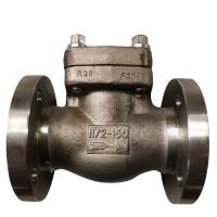 Wholesale Integral type Flanged Swing Check Valve 150LB DN25 A182 F316L,API602,BS1868 from china suppliers