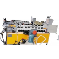 China 55mm 800mm Diameter V Clamp Automatic Cold Roll Forming Machine on sale