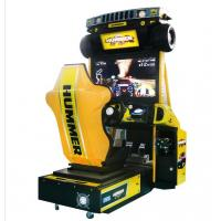 Wholesale Hummer Racing Game Machine With Beautiful Cartoon Appearance / Plastic Light Box from china suppliers