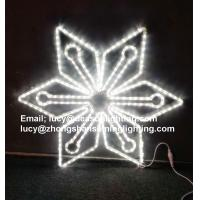 Wholesale outdoor lighted snowflakes from china suppliers