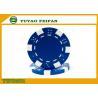 OEM Printable Plastic ABS Poker Chips GSV Certification Customised Poker Chips