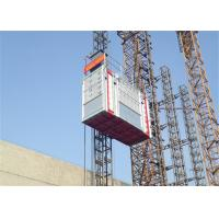 Wholesale Construction Building Passenger And Material Hoist , 2700kg Capacity from china suppliers