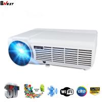 Wholesale BNEST 3500 Lumens Native 1080p hd video projector support Blue tooth optional Android TY046 from china suppliers