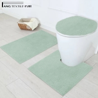 Wholesale Decoration 3 Pcs Antimicrobial Contour Toilets Mats  Customizable from china suppliers