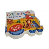 Wholesale Customized Full Color Educational Printing Shaped Books for Preschool from china suppliers