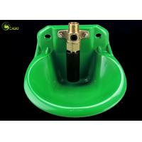 Buy cheap Automatic PP Plastic Cow Water Bowl Trough Adjustable Green Durable from wholesalers
