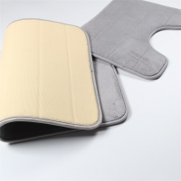 Wholesale Last Long Time SBR Backing Memory Foam Bathroom Floor Mat Quick Drying from china suppliers