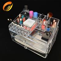 Buy cheap High standard Clear acrylic makeup storage from wholesalers