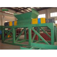 Wholesale Two Rotors Plastic Shredder Machine 220V / 380V High Efficiency Rubber Recycling from china suppliers