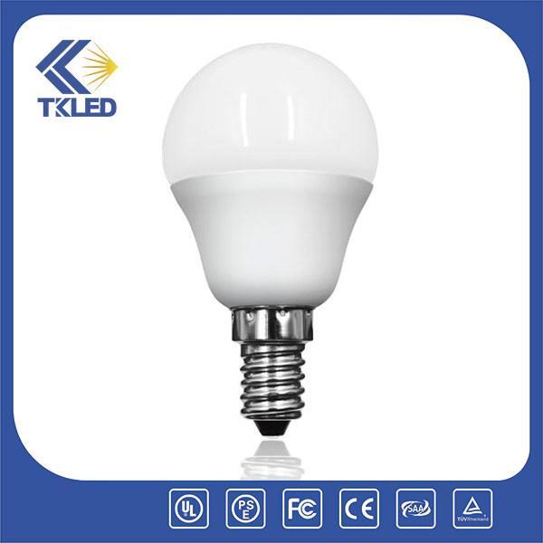 p45 e27 e14 led light bulb with 2700 6500k 800 lumen led