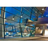 China 6.38-40.38mm Double Glazed Clear Laminated Safety Glass for Large Display Window wholesale