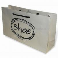 Wholesale Luxury Rope Handled Paper Carrier Bag, Available with Matte Lamination Finish from china suppliers