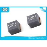 Ferrite Shielded Power Inductor 10uH , NLV25T - 100J - PF Winding High Current Inductance