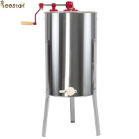 Wholesale 304 SS Bee 2 Frame Manual Honey Extractor Honey Extraction Equipment from china suppliers
