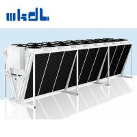 Wholesale V type stainless steel axial fan air cooled condenser for airport from china suppliers