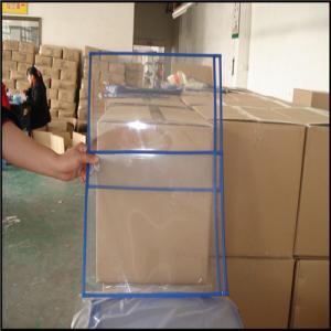 China Transparent pvc ticket/file holder without zip, PVC file bag, plastic document bags A4 paper wholesale