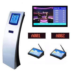 Wholesale 17 Inch Touch Queuing Number Ticket Kiosk Customer Queuing System from china suppliers